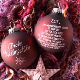 Weihnachtskugeln, die Freude machen…